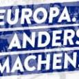 "RBtv Europa Anders Machen – Demo Auftaktkundgebung Berlin 20.06.2015 attac Die Linke   Berlin, 20.06.2015: Demo EUROPA. ANDERS. MACHEN. demokratisch – solidarisch – grenzenlos   Gregor Gysi: Flüchtlinge willkommen! Europa. anders. machen. Demo-Berlin 20.6.15   Weltflüchtlingstag 2015 ""Refugees Welcome – Flucht ist kein Verbrechen"" Berlin 20.6.     <a href=""http://www.linkezeitung.de/index.php/debatte/internationales/3943-europa-anders-machen-dieses-europa"">Europa anders machen? Dieses Europa?</a>"