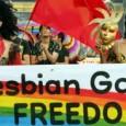 """[Video]    Der Straßburger Menschenrechtsgerichtshof hat am 19. Februar 2013 nur einen beschränkten Fortschritt für die Rechte von lesbischen-, Gay- und Transgender-Menschen und Paare gebracht: """"Überall dort, wo unverheirateten Paaren das Recht eingeräumt wird, die Kinder eines der Partner, also die Stiefkinder, zu adoptieren, muss das sowohl Heterosexuellen als auch Homosexuellen erlaubt sein. """" (Irene Brickner, der standard, 20.2.2013) Die Straßburger Richter_innen wandten sich dabei explizit an Russland, [...]"""